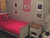 Lfc Bedroom | Football Bedroom, Wood Bedroom Sets, Bedroom Decor intended for Football Bedroom Decorating Ideas