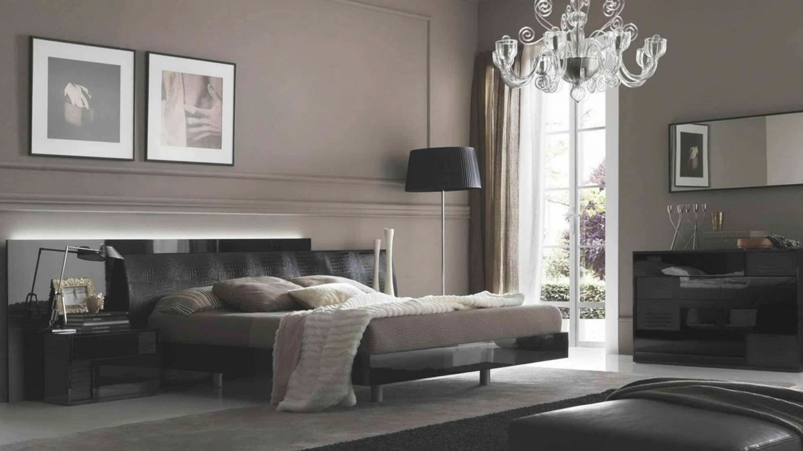 Masculine Bedroom Decor — Gentleman's Gazette with regard to Black And Grey Bedroom Decorating Ideas