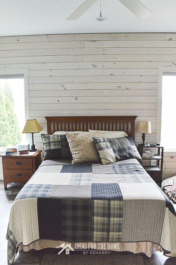 Master Bedroom Decorating Ideas: Farmhouse Style Reveal in Relaxing Master Bedroom Decorating Ideas