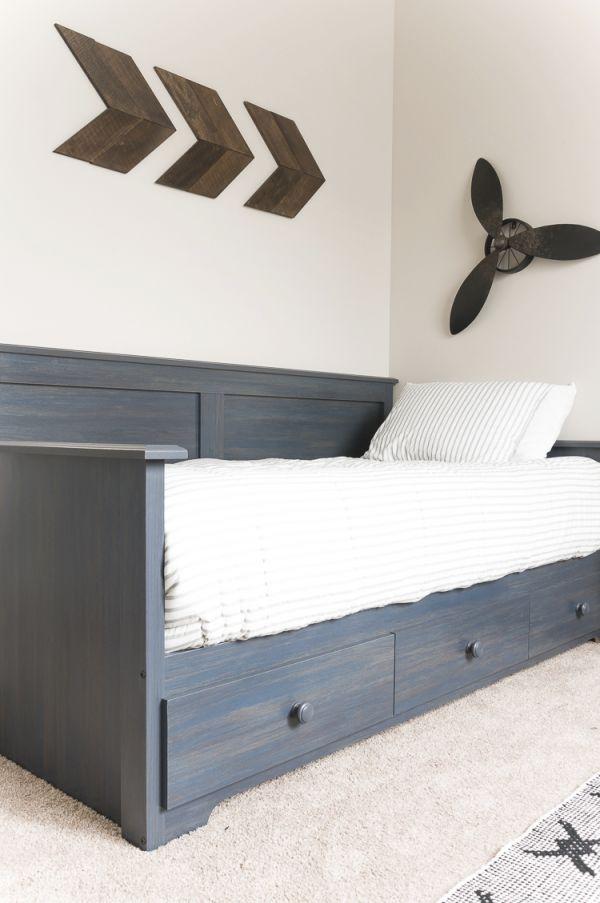 Navy And Gray Big Boy Bedroom – Cherished Bliss inside Little Boy Bedroom Decorating Ideas