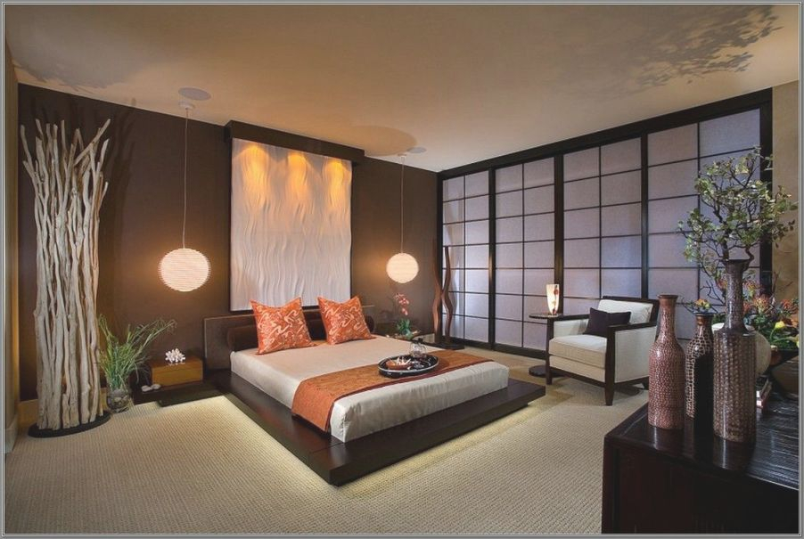 Pindemiana Kamal On Bedroom | Japanese Style Bedroom intended for Chinese Bedroom Decorating Ideas