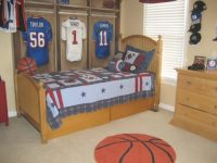 Popular Sport Room Idea Memorabilium Best Kid Bedroom Decor regarding Football Bedroom Decorating Ideas