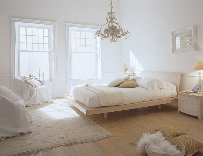 Rustic Bedroom Decoration Ideas With White Concept with Rustic Bedroom Decorating Ideas