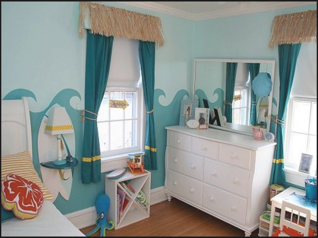 Seaside Bedroom Decor Vintage Girls Room Beach House Pop Art regarding Seaside Bedroom Decorating Ideas