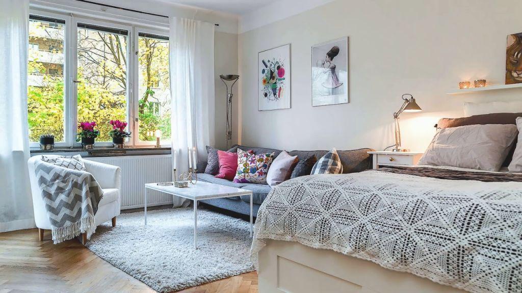 Small Studio Apartments | 50 Creative Design & Decorating Ideas in Best of One Bedroom Apartment Decorating Ideas