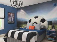 Soccer Themed Bedroom | Soccer Room, Football Bedroom pertaining to Awesome Football Bedroom Decorating Ideas