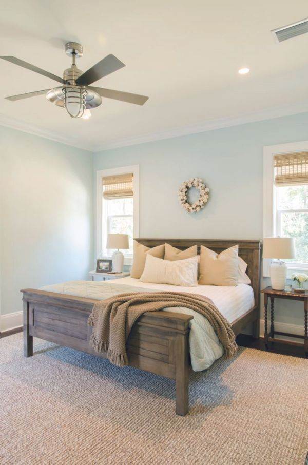 Soft Bedroom Color   Home Bedroom, Farmhouse Master Bedroom with Home Decor Ideas For Master Bedroom