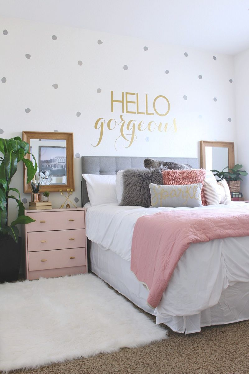 Teen Bedroom Decorating Tips, Tricks & Projects • The Budget throughout Teen Bedroom Decorating Ideas