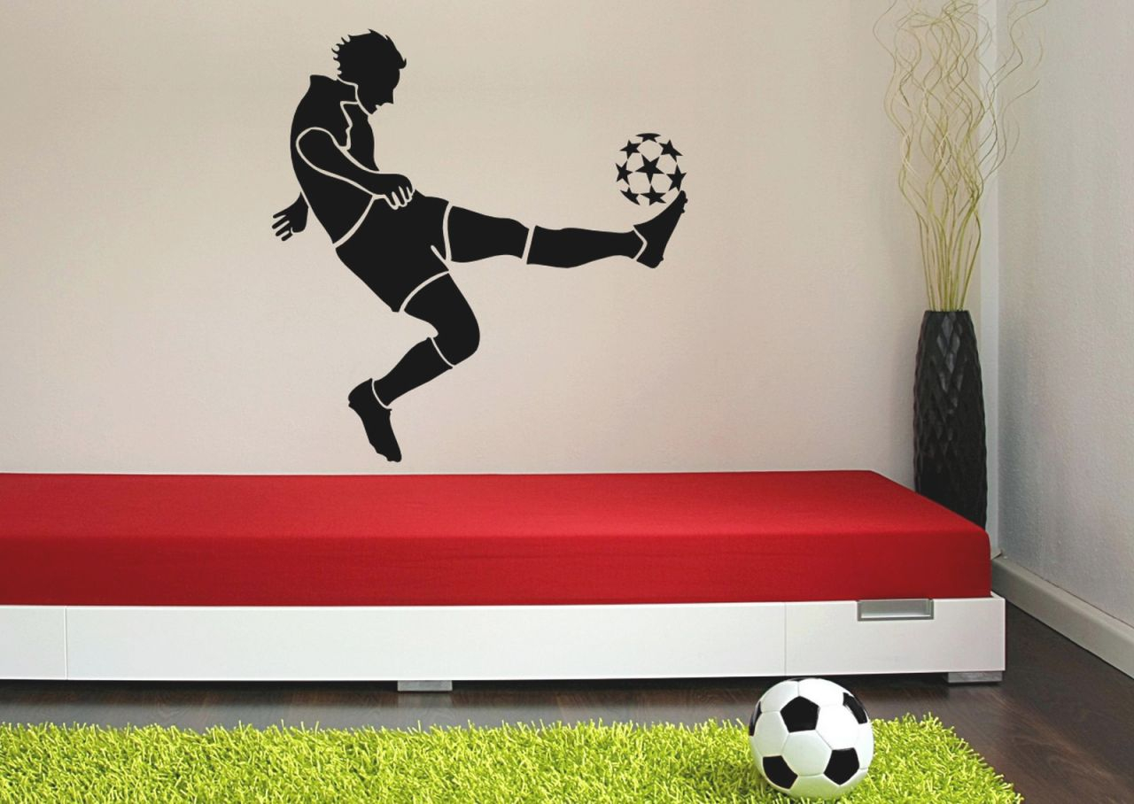 White Wall Art, Boys Football Room Decorating Ideas Baby Boy for Awesome Football Bedroom Decorating Ideas