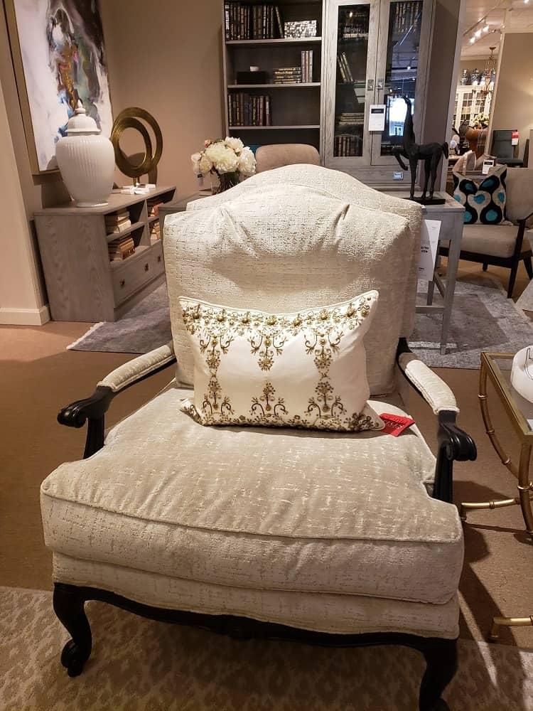Harris Arm Chair by Ethan Allen