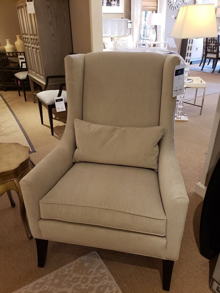 Kyle Arm Chair by Ethan Allen