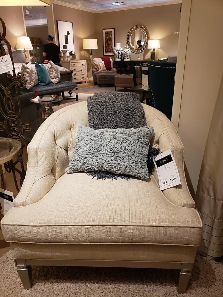 Beckett Arm Chair by Ethan Allen
