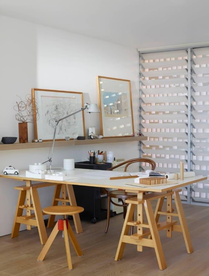 Transformer desk for the creative people's interior