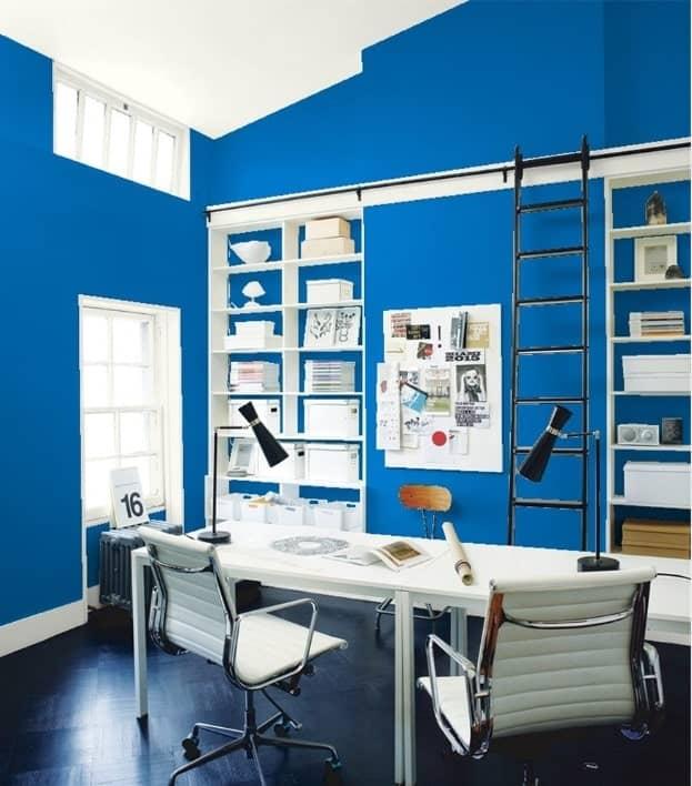 Brilliant Blue by Benjamin Moore