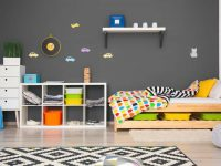 25 of the Best Gray Paint Color Options for Kids' Bedrooms
