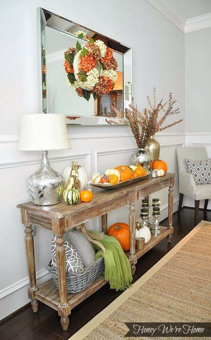 Console-Table-Fall-Decor-Ideas-01-1-Kindesign