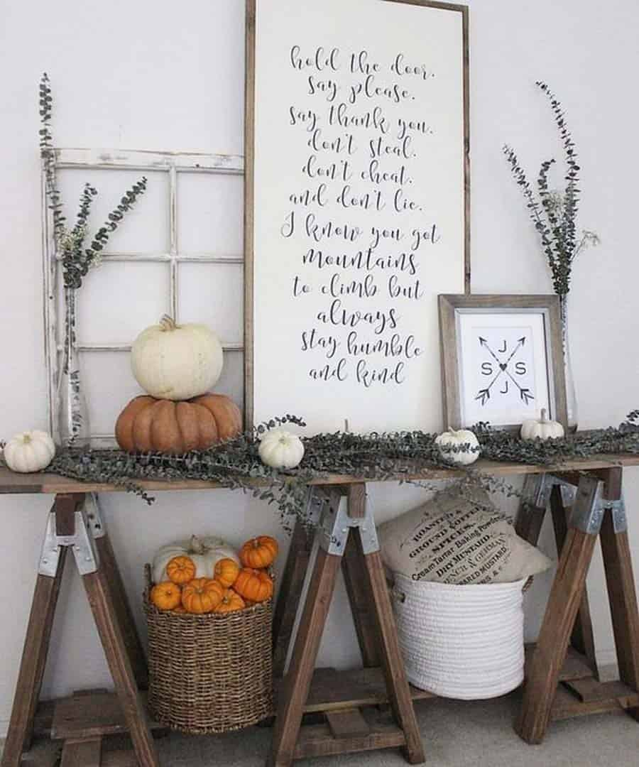 Console-Table-Fall-Decor-Ideas-21-1-Kindesign