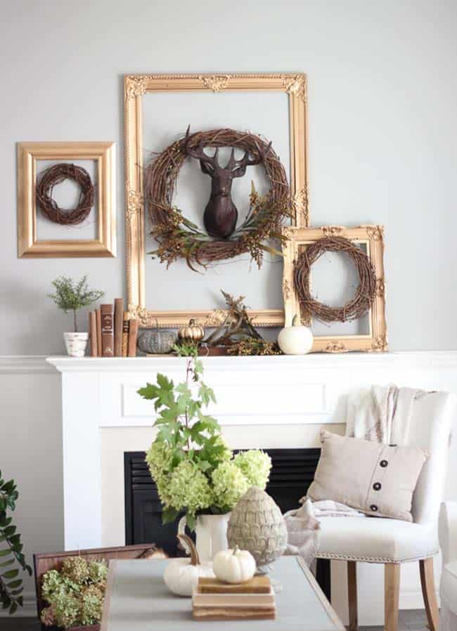 Fall-Decorating-Ideas-Fireplace-Mantel-14-1-Kindesign