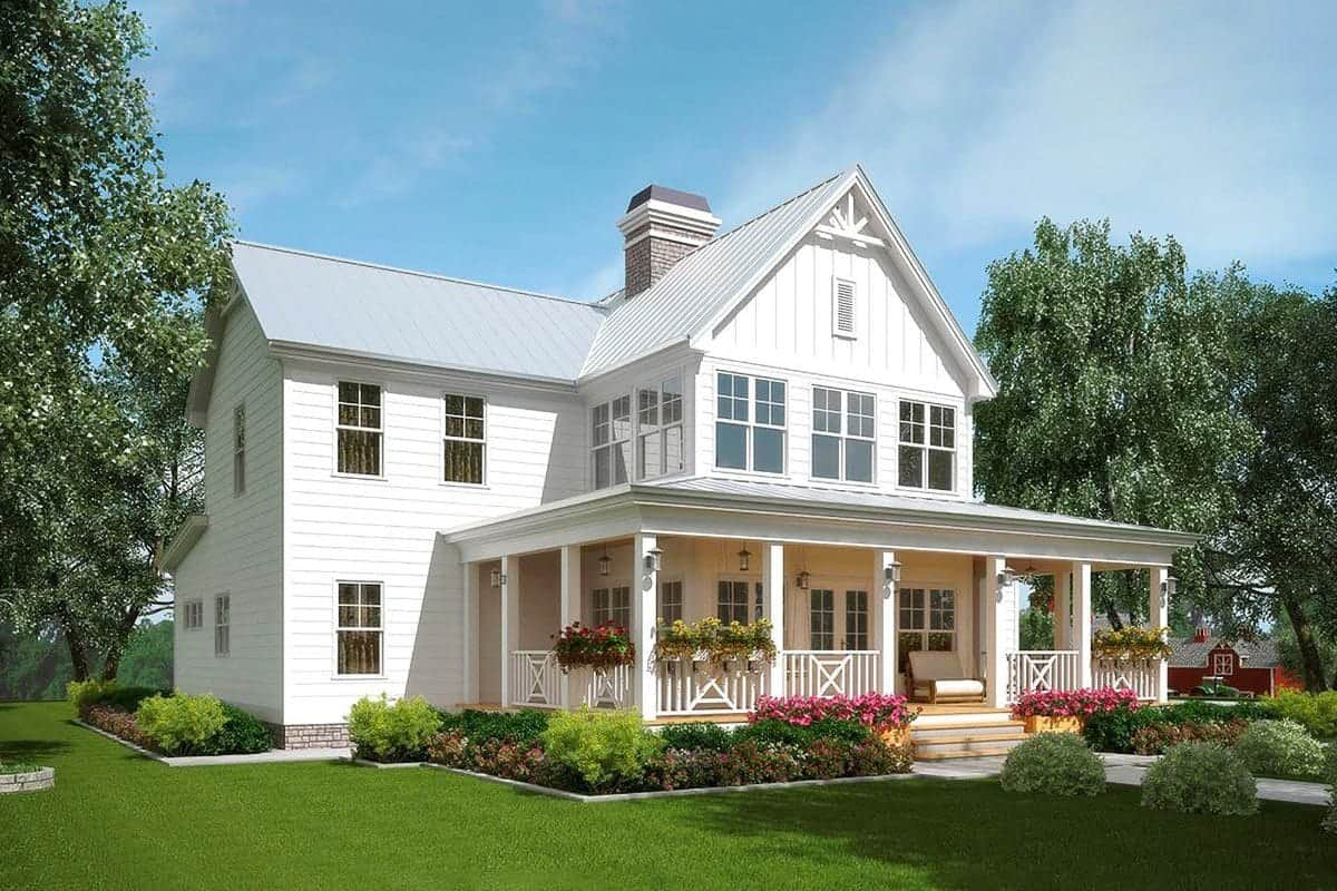 Classic Two Story 3 Bedroom Country-Style Home