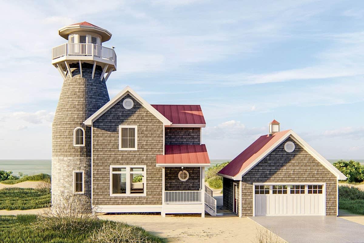 3-Bedroom Two-Story Coastal Living Home