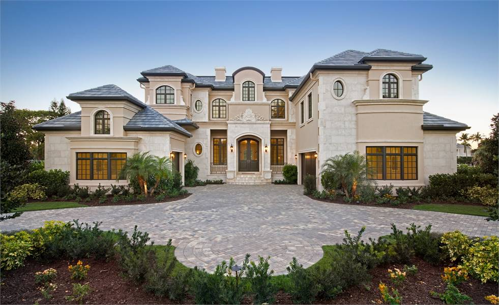 5-Bedroom Two-Story Grand Royale Tuscan Style Home