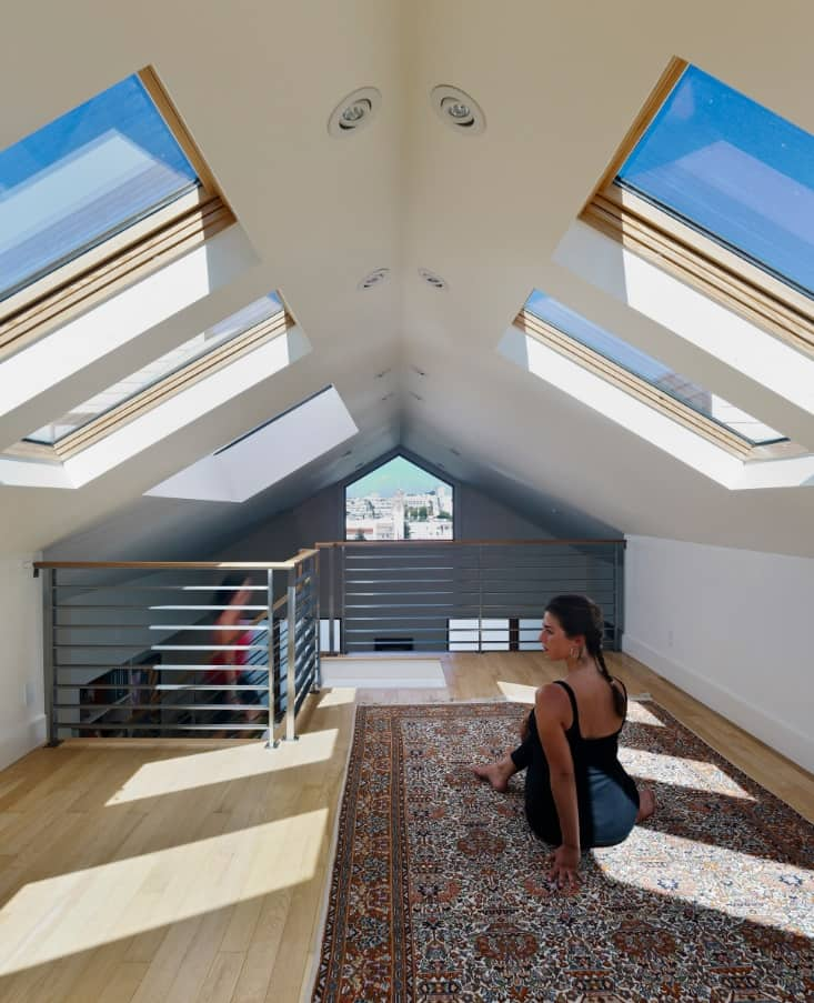Skylight for utmost relaxation at the loft level