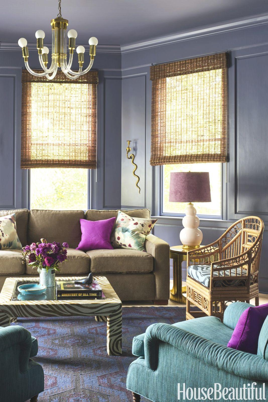 13 unique ideas for purple and green living room decor