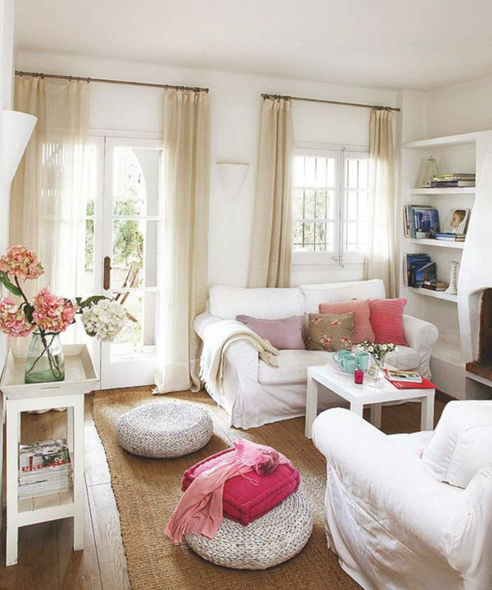 10 Sneaky Styling Tricks For A Small Living Room for 10+ Awesome Decorating Small Living Rooms Ideas