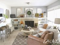12Th And White: Our Fall Hearth Room pertaining to 15 Gallery Inspiration For Living Room Decorating Ideas 2014