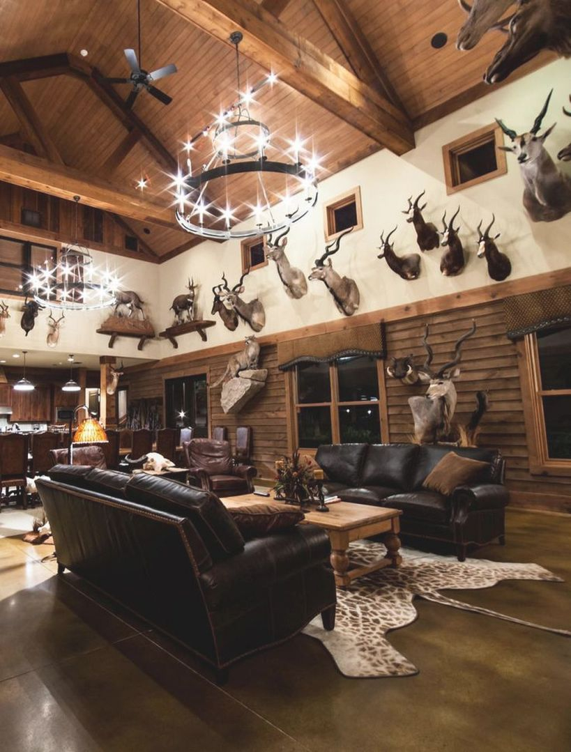 15 Incredible Man Cave Decorating Ideas For Manly Craft pertaining to 10+ Unique Gallery Hunting Decor For Living Room