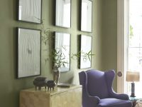 30 Impossibly Chic Olive Green Paint Color & Decor Ideas regarding Purple And Green Living Room Decor