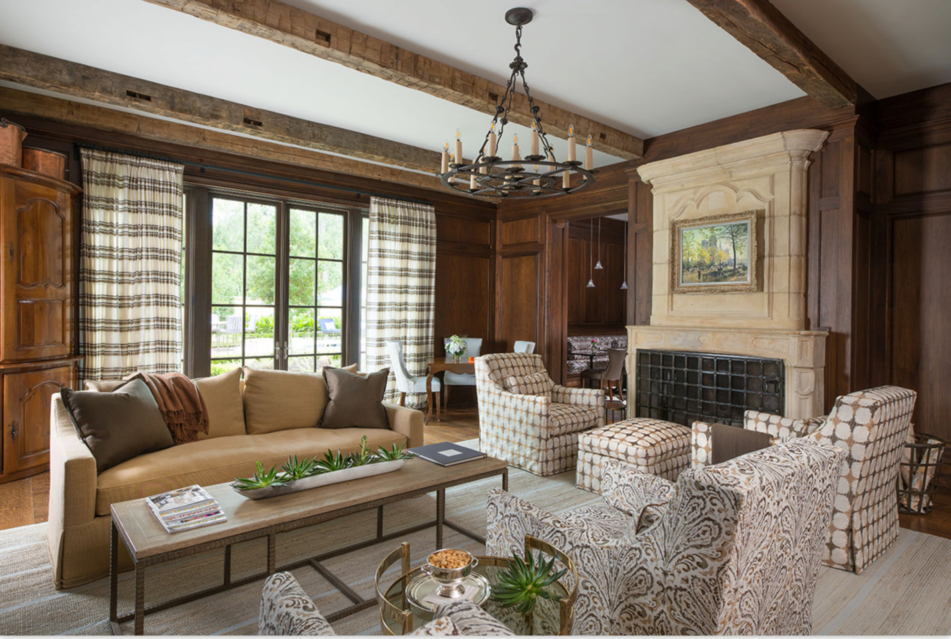 35 Best Rustic Living Room Ideas – Rustic Decor For Living Rooms in Hunting Decor For Living Room