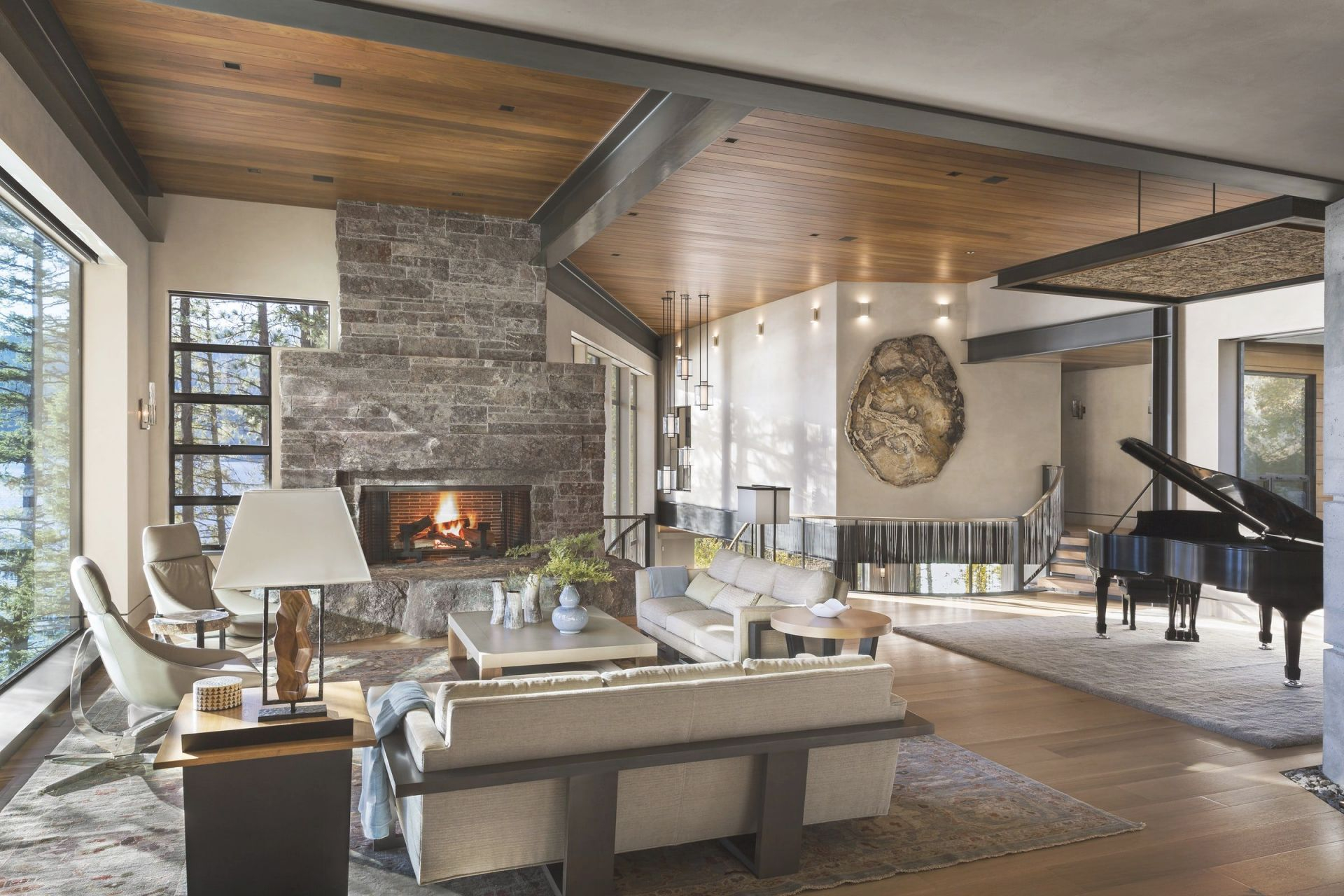 35 Best Rustic Living Room Ideas – Rustic Decor For Living Rooms pertaining to 10+ Unique Gallery Hunting Decor For Living Room