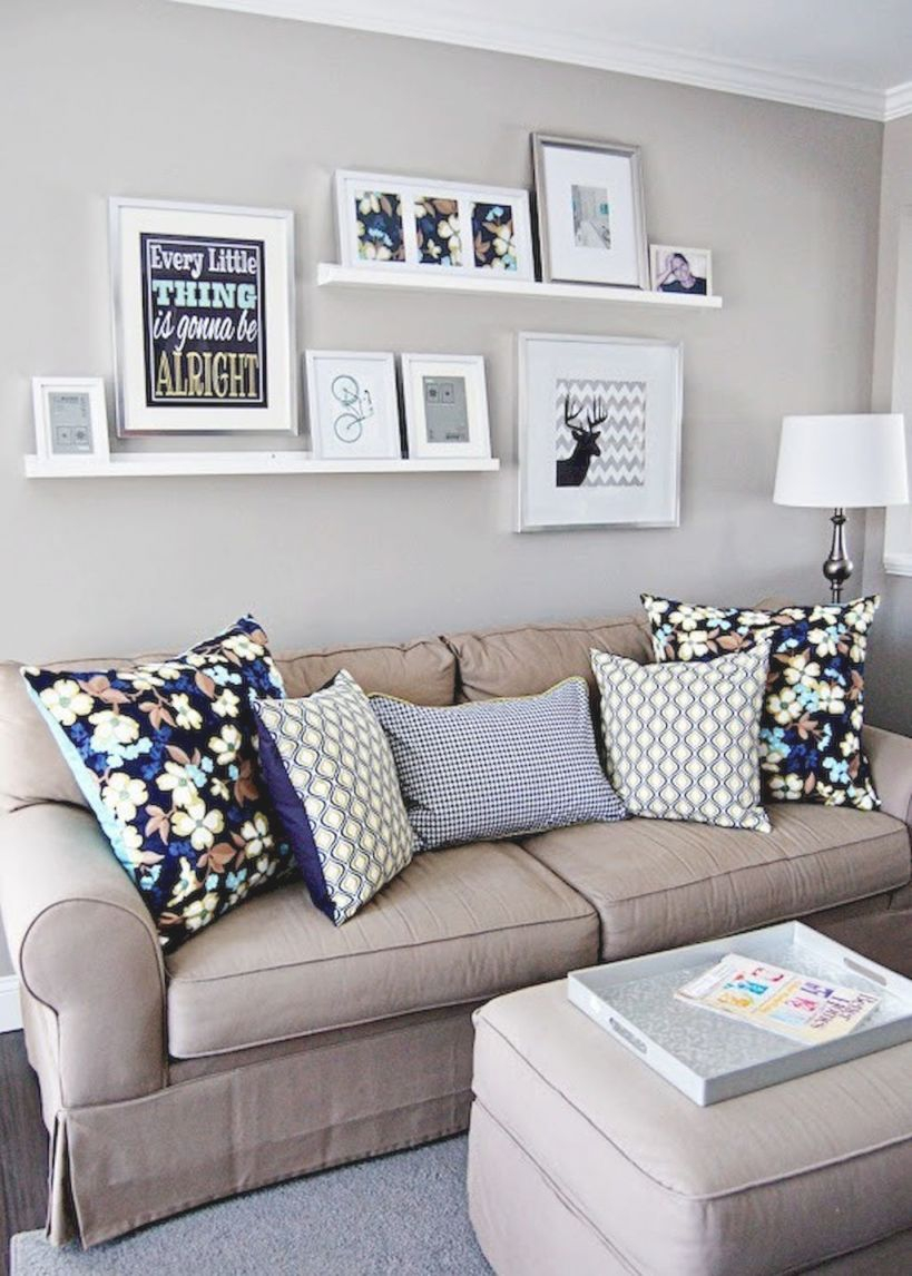 40 Beautiful And Cute Apartment Decorating Ideas On A Budget inside 13+ Unique Ideas For Decorating A Small Living Room On A Budget