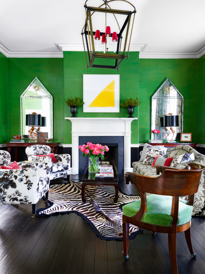 40 Unexpected Room Colors – Best Room Color Combinations intended for Purple And Green Living Room Decor