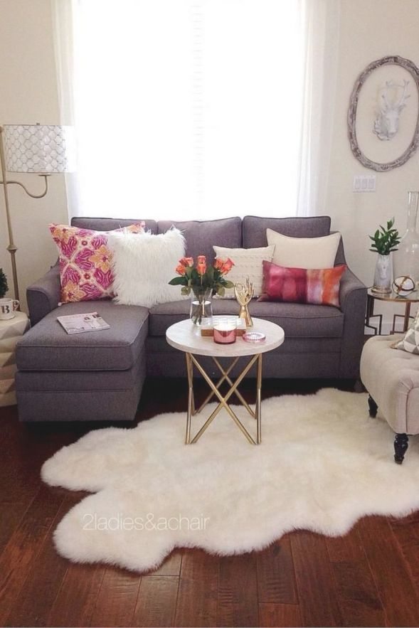 48 Genius Small Apartment Decorating Inspirations On A in 13+ Unique Ideas For Decorating A Small Living Room On A Budget