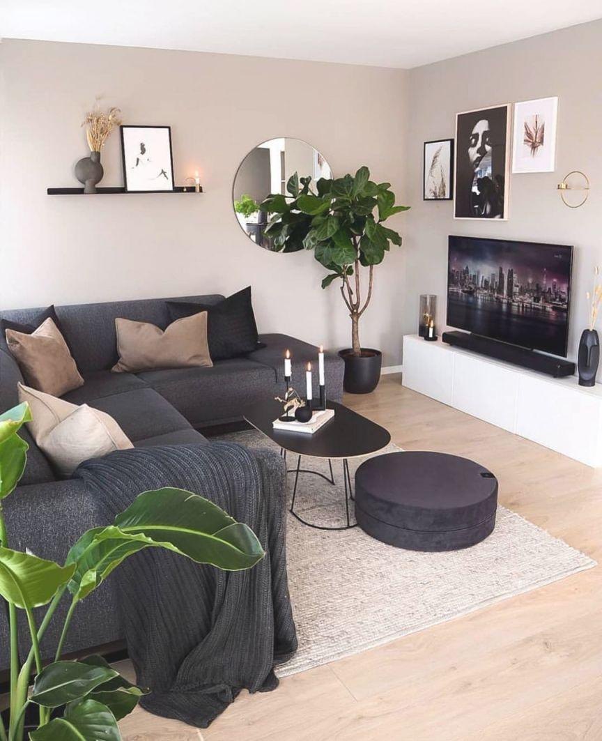 50 Lovely Living Room Design Ideas For 2020 | Small Living regarding 15 Ideas Gallery For Small Living Room Decorating Ideas