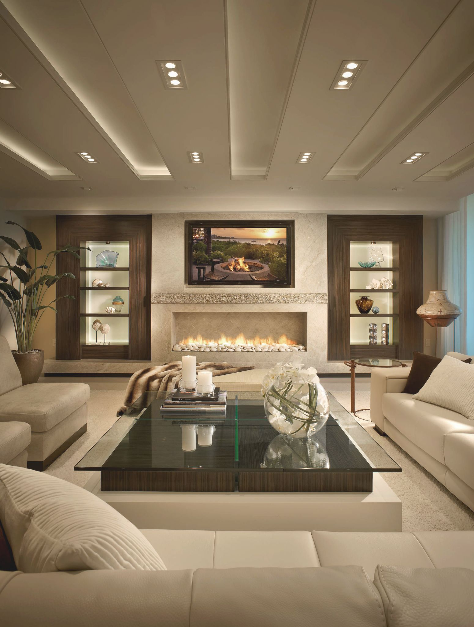 75 Beautiful Contemporary Living Room Pictures & Ideas | Houzz throughout 8+ Amazing Ideas For Ideas For Living Room Decoration Modern