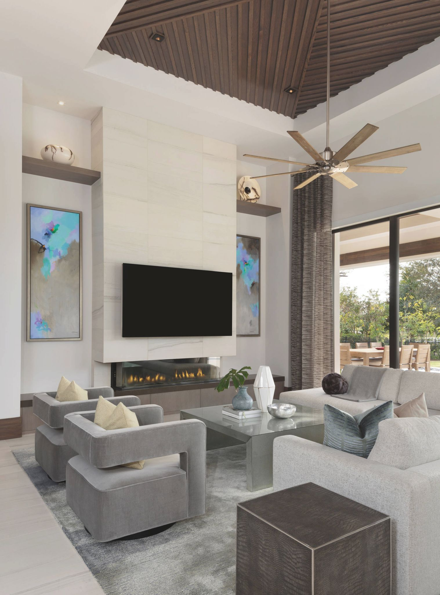 75 Beautiful Modern Living Room Pictures & Ideas - June pertaining to 8+ Amazing Ideas For Ideas For Living Room Decoration Modern