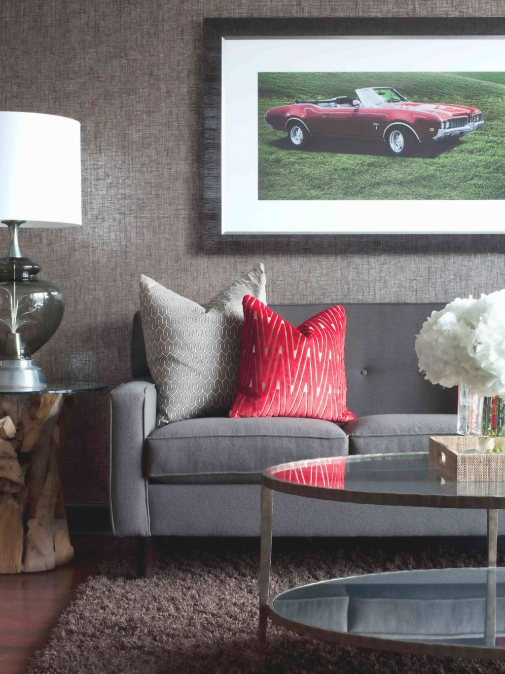 Bachelor Pad Ideas On A Budget | Hgtv regarding Decor Pad Living Room