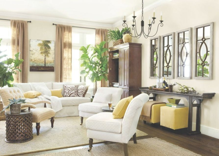 Beautiful Decorating Ideas For Large Walls In Living Room