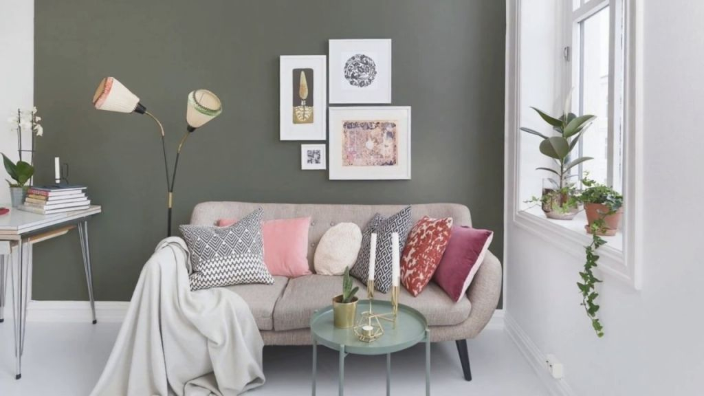Bright Small Apartment Design   Low Budget Decorating Ideas throughout Decorating A Small Living Room On A Budget
