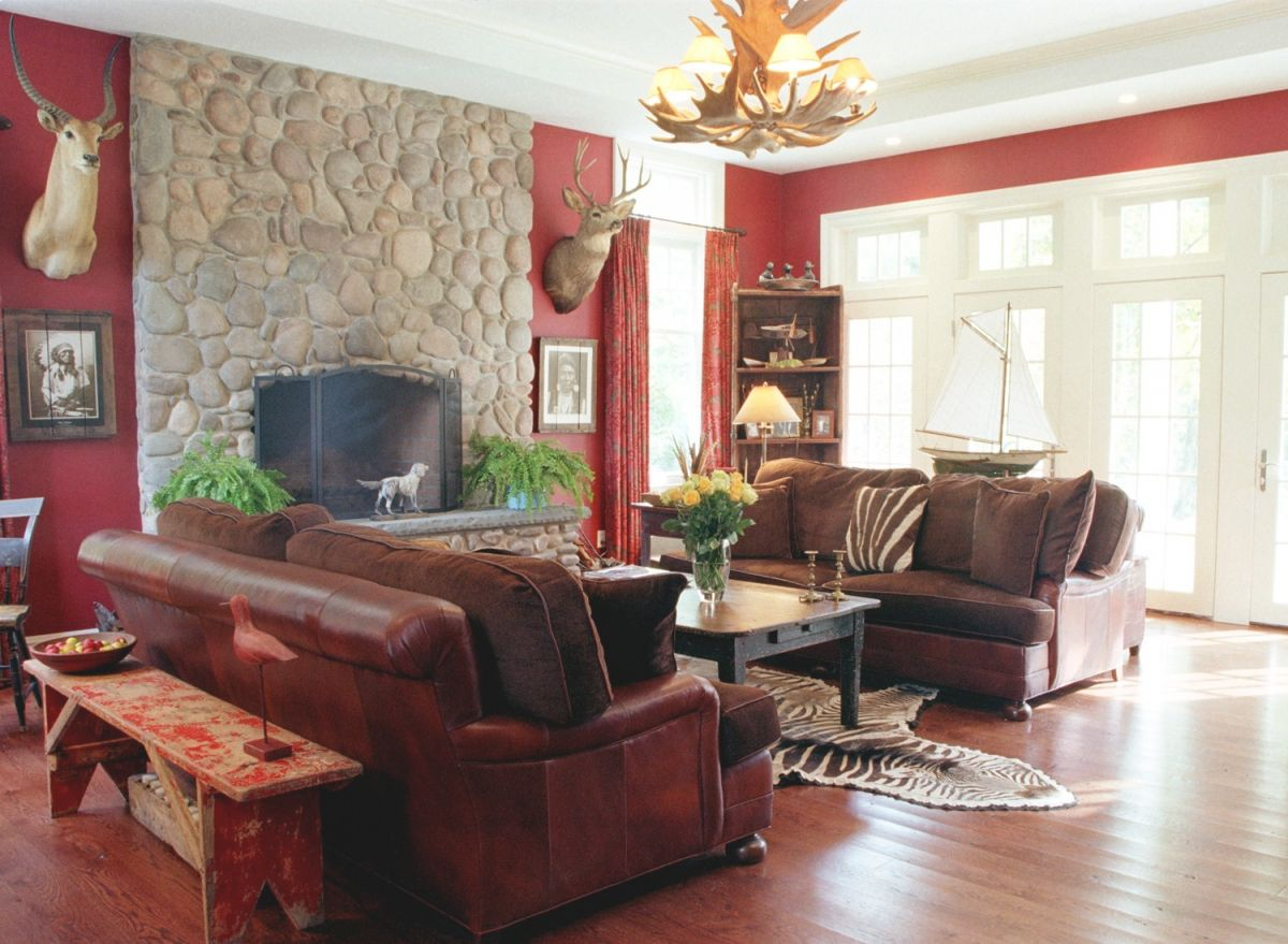 Cool Living Room Decoration Ideas Modern House Plans Boys in Hunting Decor For Living Room