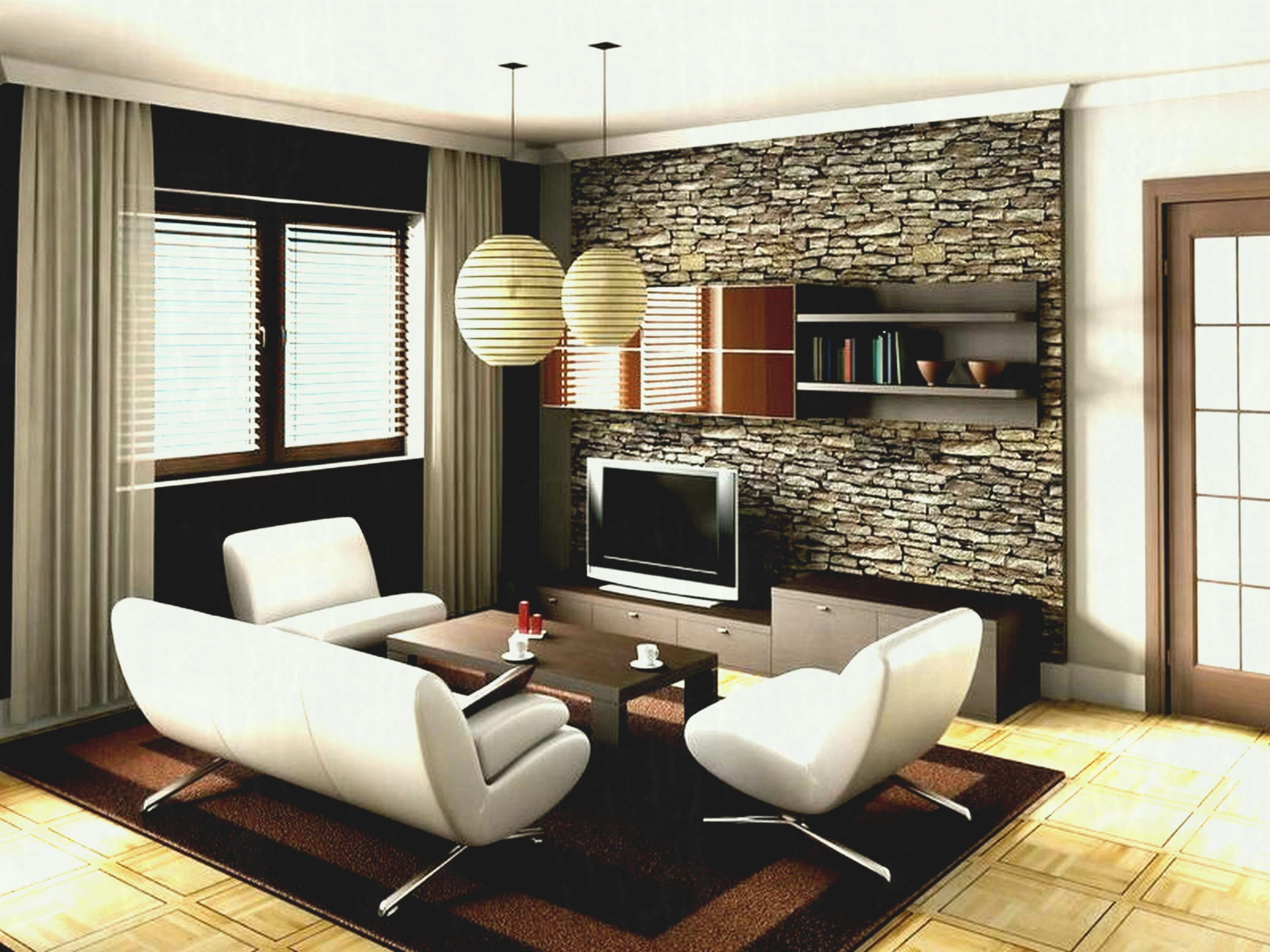 Decorating Ideas Cool Sleek Tv Control Room Layout With Pertaining To Decoration Small Living Room Awesome Decors