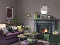 Green Living Room Ideas For Soothing, Sophisticated Spaces inside Purple And Green Living Room Decor