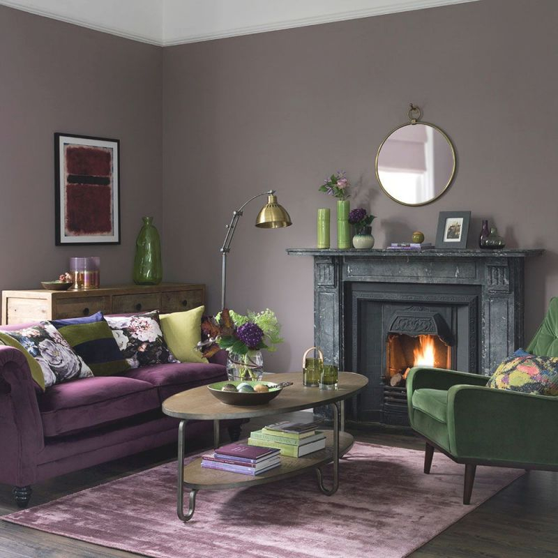13 Unique Ideas For Purple And Green Living Room Decor Awesome Decors