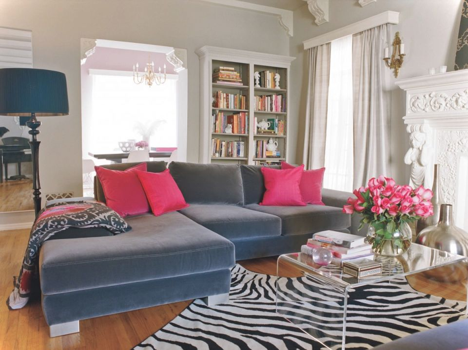 Interior-Design-Ideas-Luxury-Living-Room-Design-With-Navy throughout Living Room Decorating Ideas 2014
