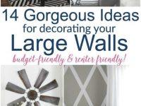 Large Diy Wall Decor Ideas | Wall Decor Living Room, Large for Decorating Ideas For Large Walls In Living Room