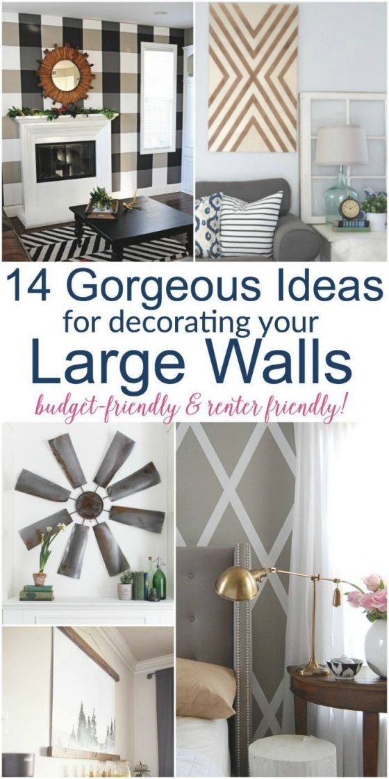 Large Diy Wall Decor Ideas | Wall Decor Living Room, Large for Decorating Ideas For Large Walls In Living Room