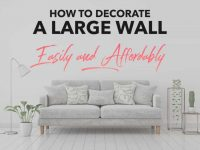 Large Wall Decor Ideas For Living Room – Frogtown Gardens within Beautiful Ideas Decorating Ideas For Large Walls In Living Room